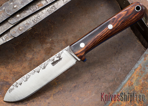 Lon Humphrey Knives: Kephart 3V - Cocobolo - Blue Liners - 121236