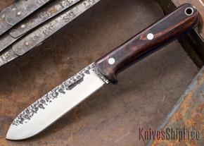Lon Humphrey Knives: Kephart 3V - Cocobolo - Blue Liners - 121237