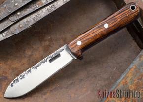 Lon Humphrey Knives: Kephart 3V - Cocobolo - Blue Liners - 121238