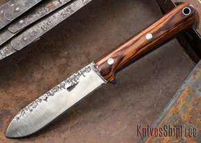 Lon Humphrey Knives: Kephart 3V - Cocobolo - Blue Liners - 121239