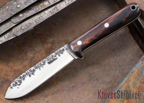 Lon Humphrey Knives: Kephart 3V - Cocobolo - White Liners - 121241