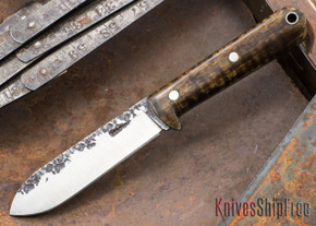 Lon Humphrey Knives: Kephart 3V - Dark Curly Maple - 121261