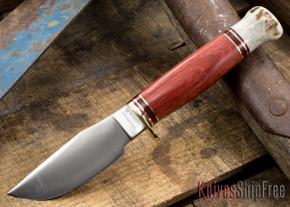 Hess Knifeworks: Hunter - Bloodwood - Stag Pommel #2