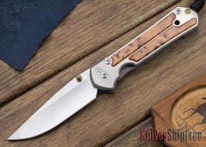 Chris Reeve Knives: Large Sebenza 21 - Thuya Burl - 010408