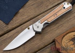 Chris Reeve Knives: Large Sebenza 21 - Thuya Burl - 010409