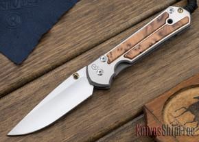 Chris Reeve Knives: Large Sebenza 21 - Thuya Burl - 010411