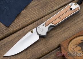 Chris Reeve Knives: Large Sebenza 21 - Thuya Burl - 010412