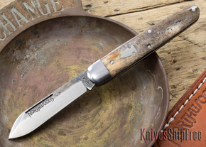 Northwoods Knives: Bear Lake - Giraffe Bone - #191