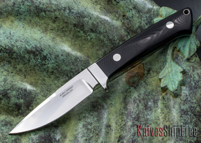 Alan Warren Knives: Custom Hunter - Black G-10