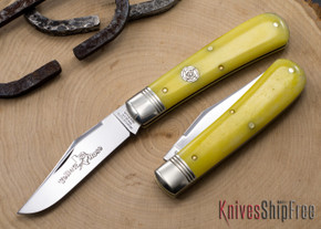 Great Eastern Cutlery: #74 Tidioute - Stallion - Smooth Yellow Rose Bone