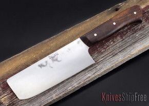 Carter Cutlery: Muteki Series - Nakiri - Ironwood - 012711