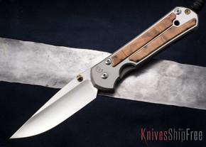 Chris Reeve Knives: Large Sebenza 21 - Thuya Burl Inlay - 013018
