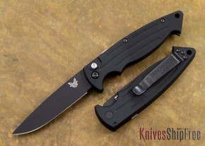 Benchmade Knives: 2551BK - Mini Reflex - Auto - Black Blade