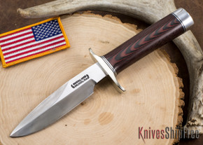Randall Made Knives: Combat Companion - Red & Blue Micarta