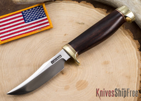 Randall Made Knives: Model 8-4 Old Style Trout & Bird Knife - Ironwood