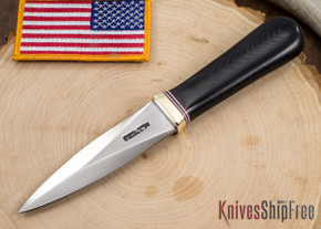 Randall Made Knives: Model 24-4 Guardian - Black Micarta
