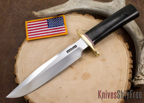 Randall Made Knives: Model 1-7 All Purpose Fighting Knife - Black Micarta