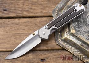 Chris Reeve Knives: Large Sebenza 21 - Bog Oak Inlay - 021301