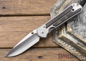 Chris Reeve Knives: Large Sebenza 21 - Bog Oak Inlay - 021302