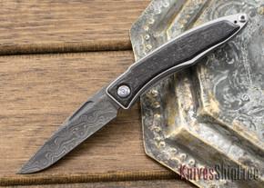 Chris Reeve Knives: Mnandi - Bog Oak - Raindrop Damascus - 021337