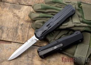 Benchmade Knives: 3321 - Pagan - OTF Auto - Stonewashed Blade