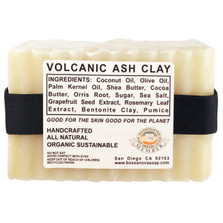 VOLCANIC ASH CLAY 5.5 OZ SOAP