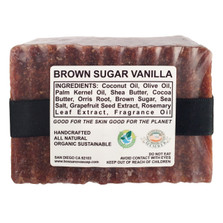BROWN SUGAR VANILLA 5.5 OZ SOAP