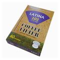 LAtina 102 Filter 40pcs/bleached