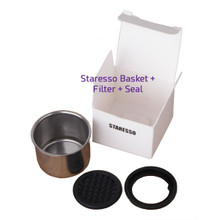 Staresso Basket + Filter + seal set  dalam box
