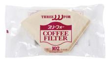 EB-102x40  brown 102 filter trapezoid