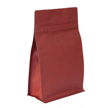 CP-PURE9586.RP Red Paper box pouch zipper valve Red 250g
