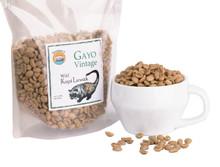 vintage Gayo Luwak Green Beans (Wild, Bukan Kandang)