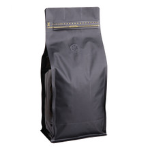WF-BPZV1000.MBK wanted pack box pouch zipper valver matte black 1kg