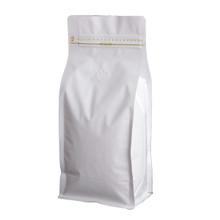 WF-BPZV1000.MWH wanted pack box pouch zipper valver Matte White 1kg