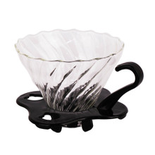 V60-01 Glass spiral dripper