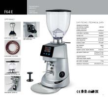 Fiorenzato F64E Automatic espresso grinder (grey/silver)