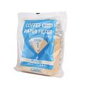 Cafec CC1-100B Coffee filter V60-01 /Cone 1 100 Lenbar coklat tampa pemutihan