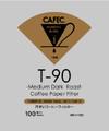CAFEC MC1-100 Medium  Roast Filter V60-01 Cone1