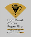 CAFEC Light Roast LC1-100W V60-01 Cone 1