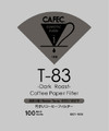 CAFEC DC1-100 DARK ROAST FILTER V60-01 /cone 1