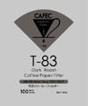 CAFEC DC1-100 DARK ROAST FILTER V60-01 /cone 1