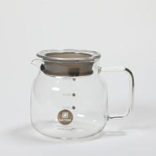 Latina Moon River Glass coffee server dengan tutupan