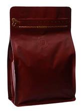 MP250-PZ box pouch zipper Brown