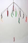 "32"" Multi-Color Latex Tubing Umbrella Rig"
