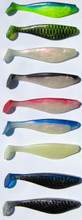 "6"" Shad available in 9 Colors"