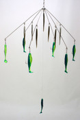 "M&M Lures 32"" Combo umbrella rig"
