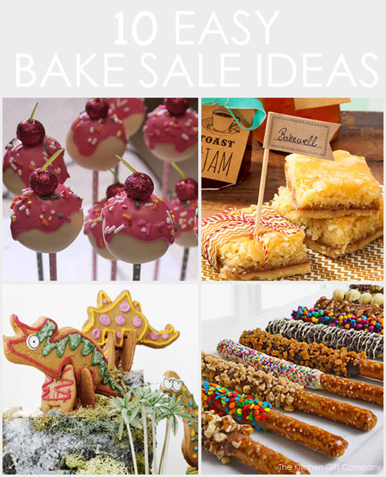 Easy Bake sale Ideas for kids