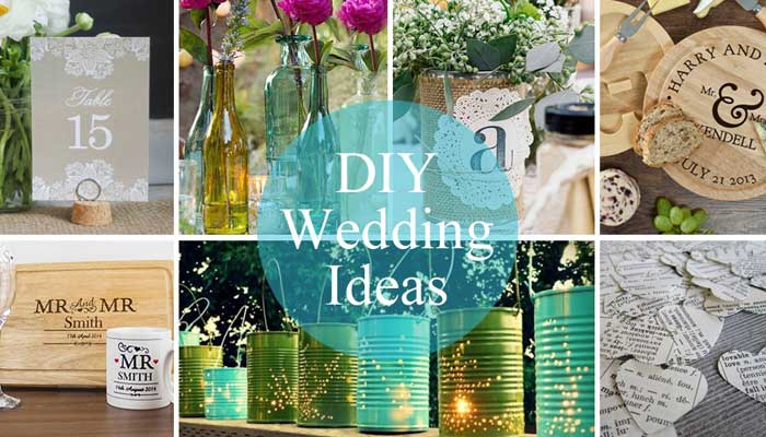 Creative Diy Wedding Gifts: Flowers, Favours And Fab Table Decor