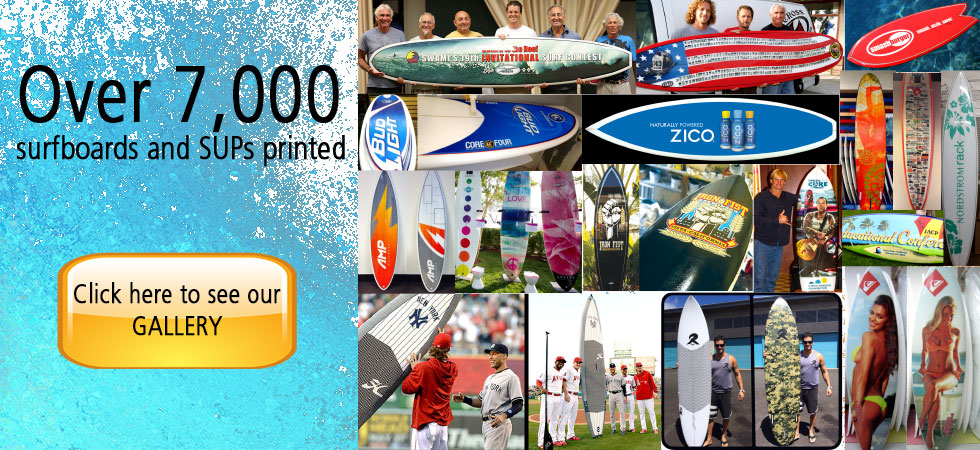 Photocloth Gallery Custom Surfboard Graphics