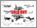 50th Anniv VMF-214 ~ (signed by 12 frmr Cmdr's) ~ SOLD OUT